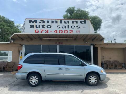 2005 Chrysler Town and Country for sale at Mainland Auto Sales Inc in Daytona Beach FL