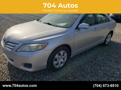 2011 Toyota Camry for sale at 704 Autos in Statesville NC