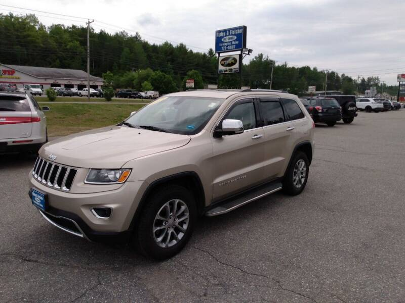 2015 Jeep Grand Cherokee for sale at Ripley & Fletcher Pre-Owned Sales & Service in Farmington ME