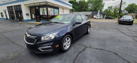 2016 Chevrolet Cruze Limited for sale at Superior Automotive Group in Owensboro KY