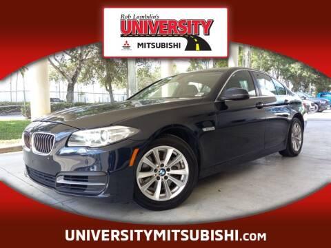 2014 BMW 5 Series for sale at University Mitsubishi in Davie FL
