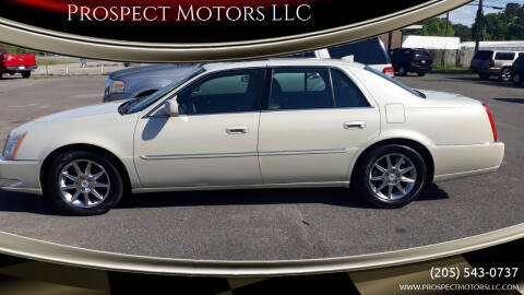 2011 Cadillac DTS for sale at Prospect Motors LLC in Adamsville AL