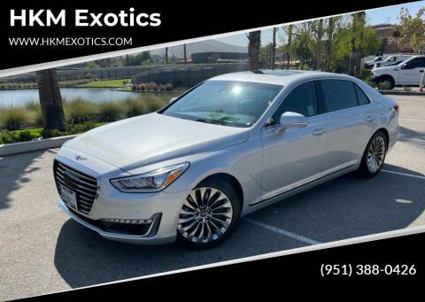 2018 Genesis G90 for sale at HKM Exotics in Corona CA