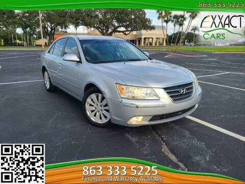 2009 Hyundai Sonata for sale at Exxact Cars in Lakeland FL