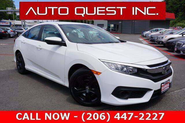 2018 Honda Civic for sale in Seattle, nul