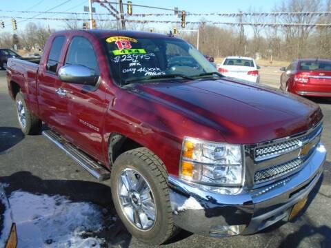 2013 Chevrolet Silverado 1500 for sale at River City Auto Sales in Cottage Hills IL