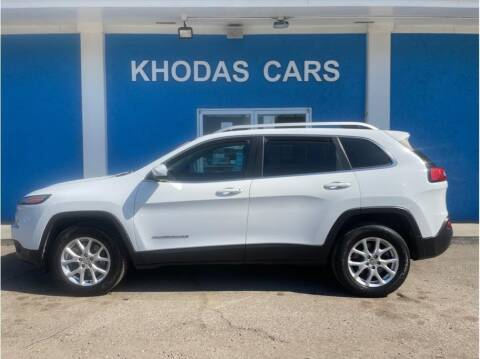 2014 Jeep Cherokee for sale at Khodas Cars in Gilroy CA