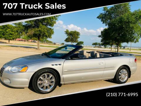 2005 Chrysler Sebring for sale at 707 Truck Sales in San Antonio TX
