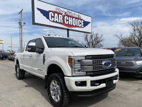 2019 Ford F-250 Super Duty for sale at Ray Hibdon's Car Choice in Oklahoma City OK