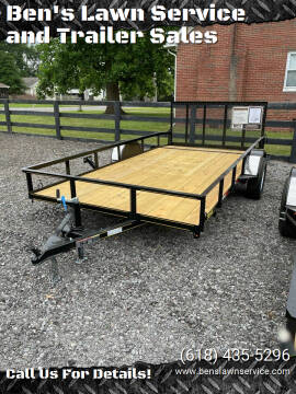 2021 Trailer Express 14'Utility for sale at Ben's Lawn Service and Trailer Sales in Benton IL