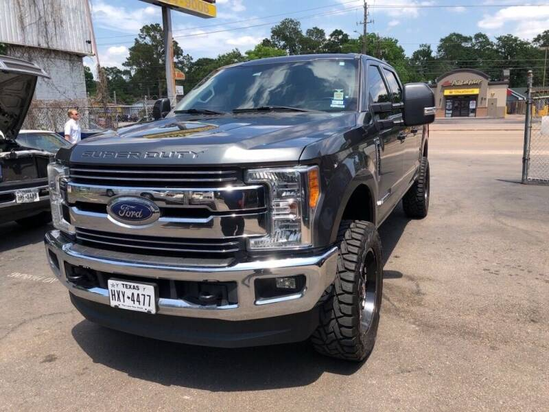 2017 Ford F-250 Super Duty for sale at 4 Girls Auto Sales in Houston TX