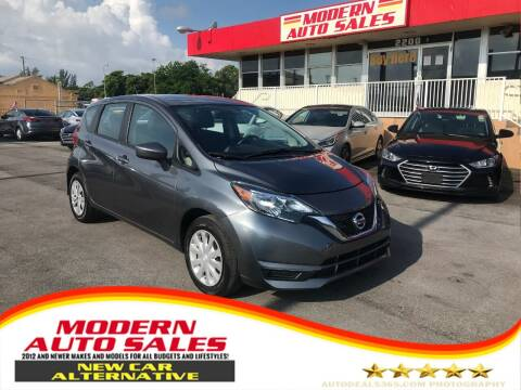 2017 Nissan Versa Note for sale at Modern Auto Sales in Hollywood FL