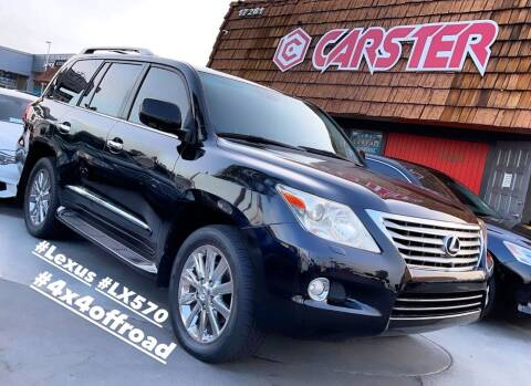 2010 Lexus LX 570 for sale at CARSTER in Huntington Beach CA