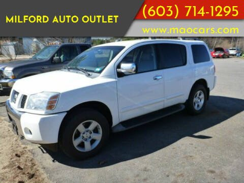 2007 Nissan Armada for sale at Milford Auto Outlet in Milford NH