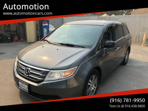 2013 Honda Odyssey for sale at Automotion in Roseville CA