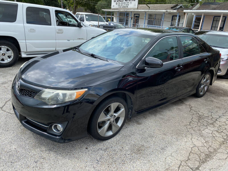 2014 Toyota Camry for sale at Lion Auto Finance in Houston TX