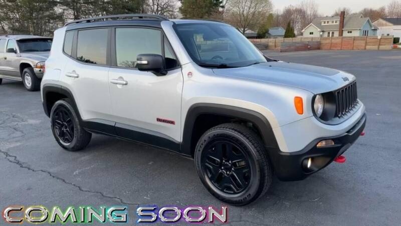 2018 Jeep Renegade for sale at RBT Automotive LLC in Perry OH