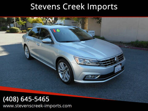 2016 Volkswagen Passat for sale at Stevens Creek Imports in San Jose CA