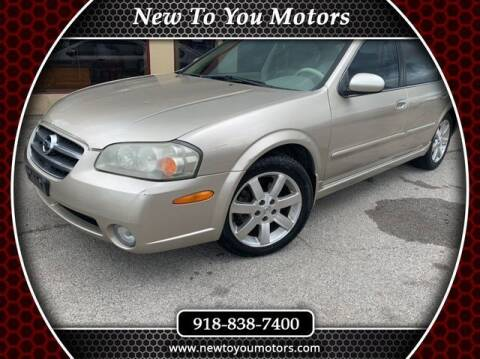 2003 Nissan Maxima for sale at New To You Motors in Tulsa OK