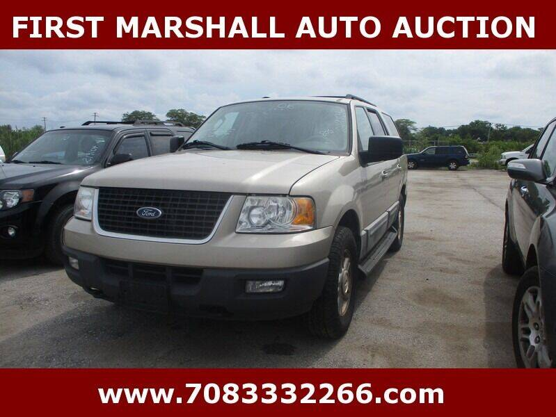 2006 Ford Expedition for sale at First Marshall Auto Auction in Harvey IL