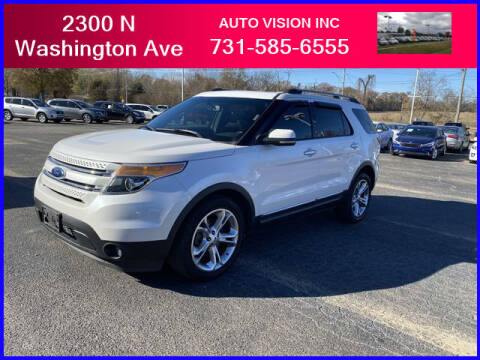 2012 Ford Explorer for sale at Auto Vision Inc. in Brownsville TN