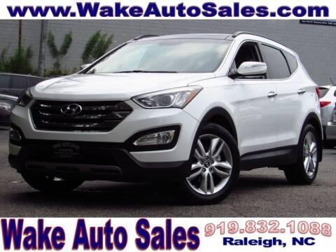 2014 Hyundai Santa Fe Sport for sale at Wake Auto Sales Inc in Raleigh NC