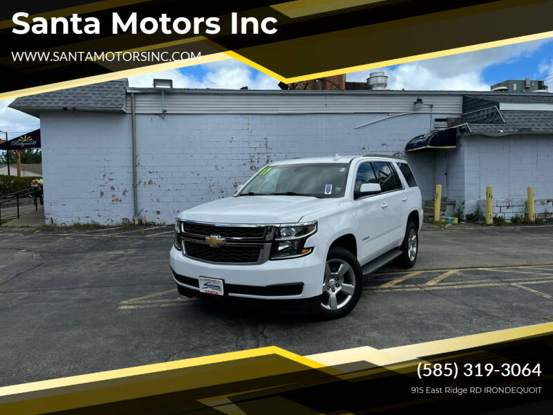 2017 Chevrolet Tahoe for sale at Santa Motors Inc in Rochester NY