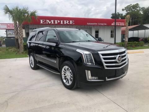 2015 Cadillac Escalade for sale at Empire Automotive Group Inc. in Orlando FL