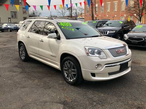 2012 GMC Acadia for sale at Best Cars R Us in Plainfield NJ