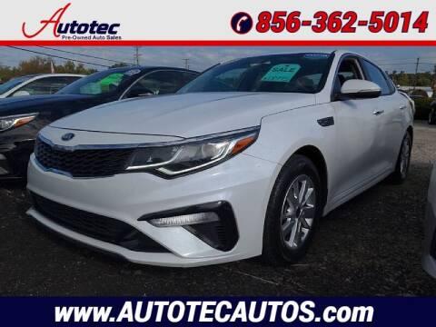 2019 Kia Optima for sale at Autotec Auto Sales in Vineland NJ