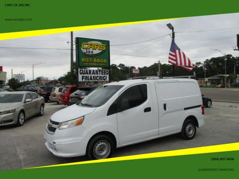 2015 Chevrolet City Express Cargo for sale at CARS OF JAX INC. in Jacksonville FL