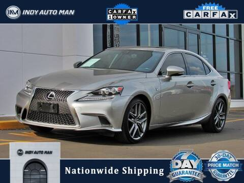 2016 Lexus IS 350 for sale at INDY AUTO MAN in Indianapolis IN