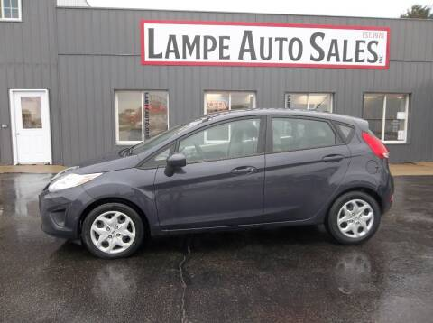 2012 Ford Fiesta for sale at Lampe Auto Sales in Merrill IA