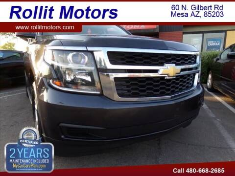 2016 Chevrolet Tahoe for sale at Rollit Motors in Mesa AZ