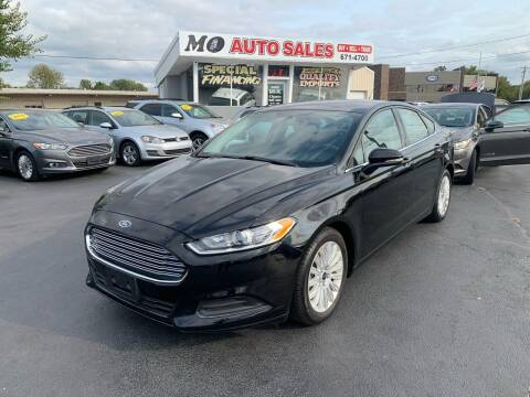 2016 Ford Fusion Hybrid for sale at Mo Auto Sales in Fairfield OH