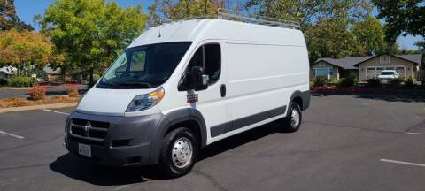 2018 RAM ProMaster Cargo for sale at Cars R Us in Rocklin CA