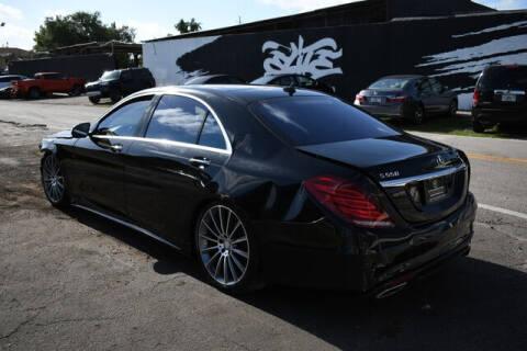 2015 Mercedes-Benz S-Class for sale at ELITE MOTOR CARS OF MIAMI in Miami FL