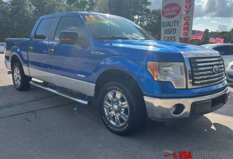 2011 Ford F-150 for sale at VSA MotorCars in Cypress TX