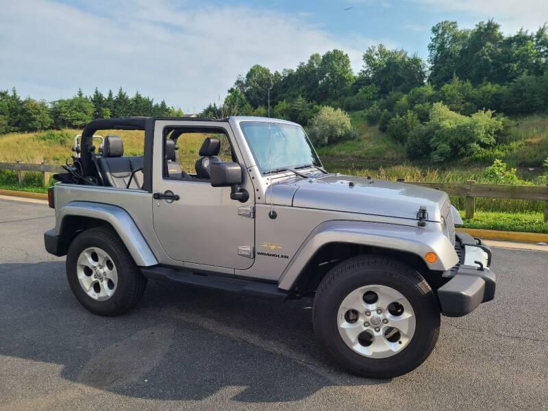 2013 Jeep Wrangler for sale in Sterling, VA