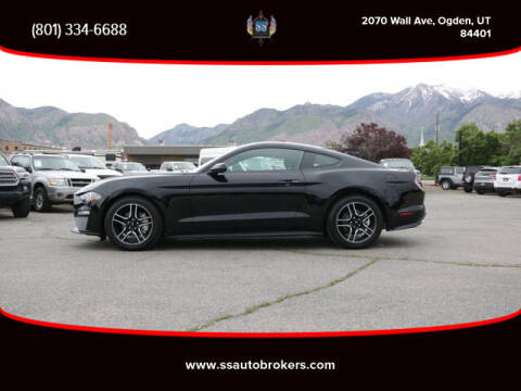 2019 Ford Mustang for sale at S S Auto Brokers in Ogden UT