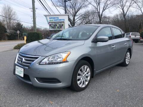 2014 Nissan Sentra for sale at Sports & Imports in Pasadena MD