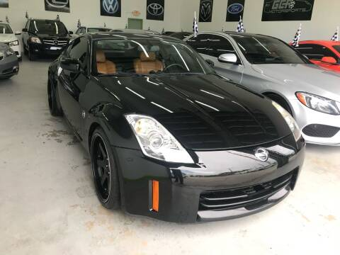 2006 Nissan 350Z for sale at GCR MOTORSPORTS in Hollywood FL