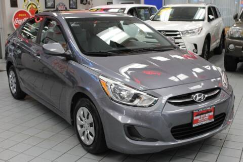 2016 Hyundai Accent for sale at Windy City Motors in Chicago IL