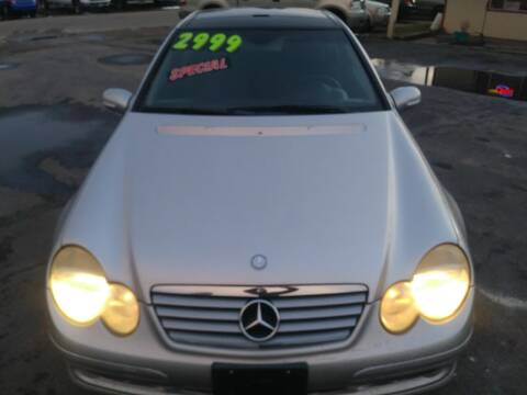 2004 Mercedes-Benz C-Class for sale at Marvelous Motors in Garden City ID