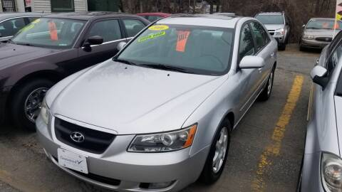 2006 Hyundai Sonata for sale at Howe's Auto Sales in Lowell MA