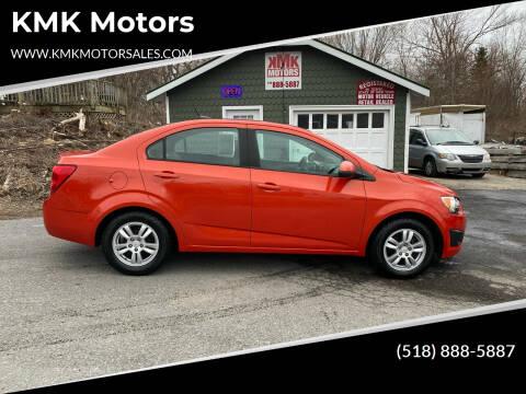 2012 Chevrolet Sonic for sale at KMK Motors in Latham NY