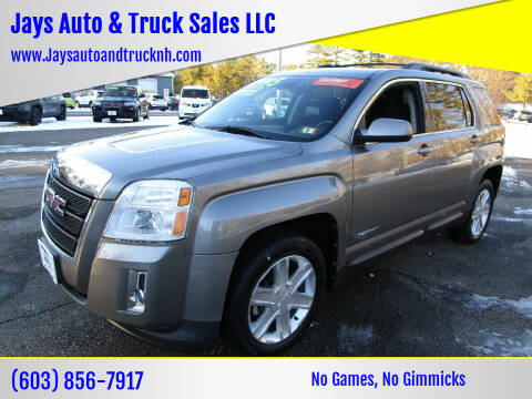 2012 GMC Terrain for sale at Jays Auto & Truck Sales LLC in Loudon NH