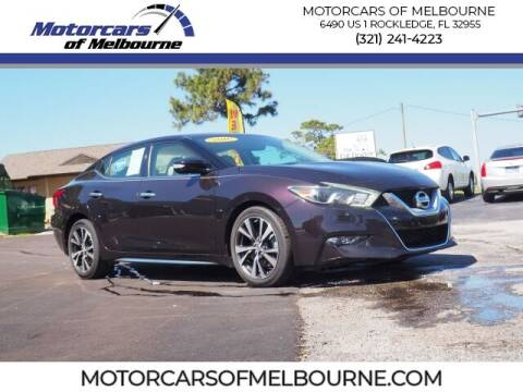 2016 Nissan Maxima for sale at Motorcars of Melbourne in Rockledge FL