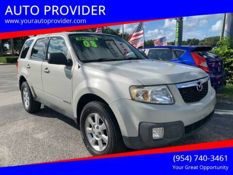 2008 Mazda Tribute for sale at AUTO PROVIDER in Fort Lauderdale FL