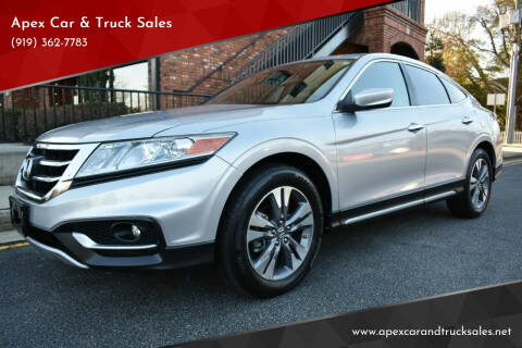 2014 Honda Crosstour for sale at Apex Car & Truck Sales in Apex NC